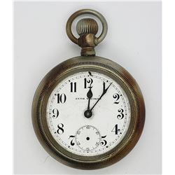 SETH THOMAS OPEN FACE POCKET WATCH