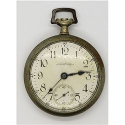 J.T. JOHNSON COLORADO, TEXAS POCKET WATCH