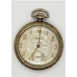 LANCO OPEN FACE POCKET WATCH