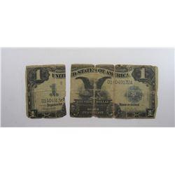 "1899 $1 ""BLACK EAGLE"" SILVER CERT"