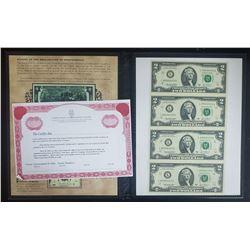 2003 UNCUT SHEET $2 FED RSV NOTES