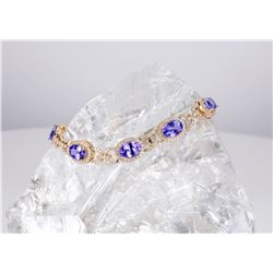 "Effy ""Tanzanite Royale"" bracelet"