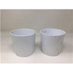 Alaska Weiss Pot Lot of 2