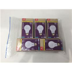 Globe 1700 Lumens Incandescent Bulbs 5-Pack