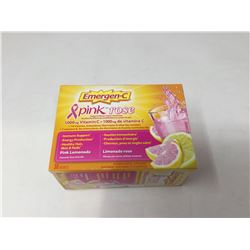 Emergen-C Pink Lemonade Flavored Fizzy Drink Mix
