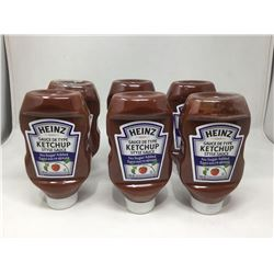 Heinz Ketchup No Sugar Added (6 x 750mL)