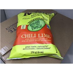 Case of Kettle Brand Chili Lime Potato Chips (12 x 170g)