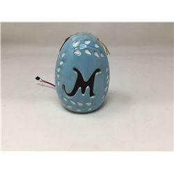 Easter Light Up Monogram Egg