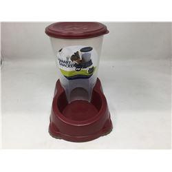 Smart Snacker Pet Feeding System- Red 3L