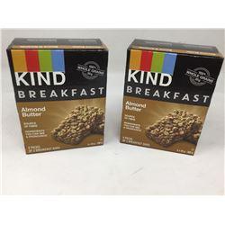 Kind Breakfast Almond Butter Bars (2 x 4)