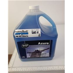 4L jug of Dura Plus Azure Concentrated laundry detergent