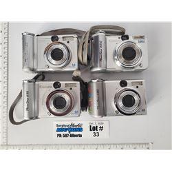 Lot of 4 Canon Digital Cameras