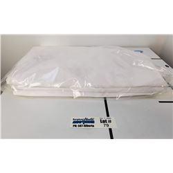 Lot of 3 New White LAC-MAC Lab Coats Size XXL