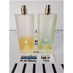 Lot of Estee Lauder Pure White Linen Perfume & Estee Lauder Pure White Linen Light Breeze Perfume  *