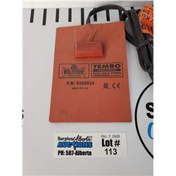 New Wolverine Engine Oil Heater P/N: 3400034
