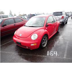 2001 Volkswagen New Beetle
