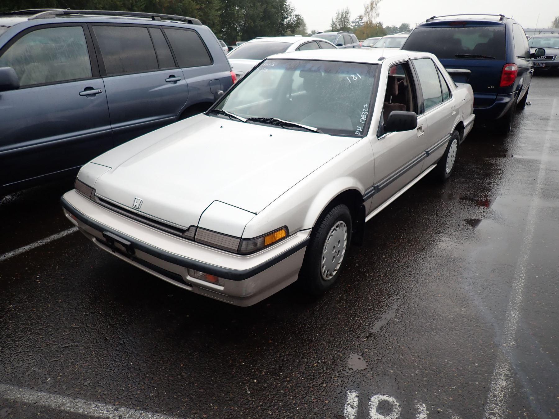Kekurangan Honda Accord 1988 Perbandingan Harga