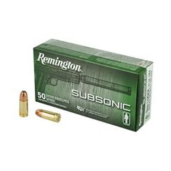 REM SUBSONIC 9MM 147GR - 50 Rds