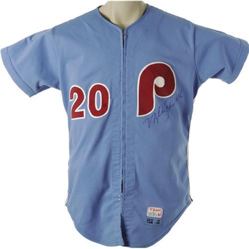 buy popular a7205 3ec08 1982 Mike Schmidt Game Worn Uniform