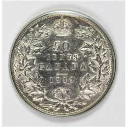 1919 CANADA HALF DOLLAR