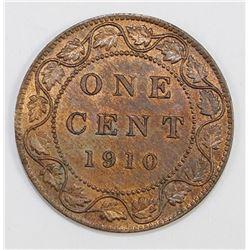 1910 CANADA CENT