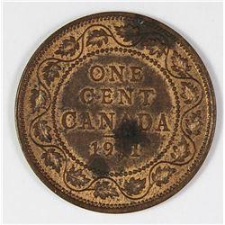 1911 CANADA CENT