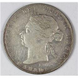 1898 CANADA SILVER HALF DOLLAR