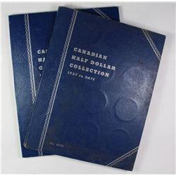 CANADA SILVER HALF DOLLAR SET 1870-1953