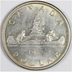 1955 CANADA SILVER DOLLAR