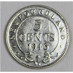 1946-  NEWFOUNDLAND NICKEL SILVER
