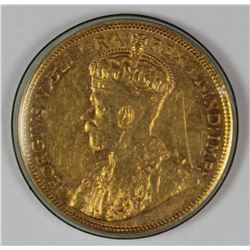 1914 $5.00 CANADA GOLD