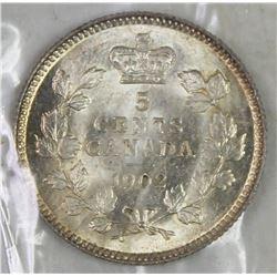 1902 CANADA NICKEL