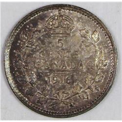 1916 CANADA NICKEL