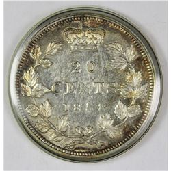 1858 CANADA TWENTY CENT
