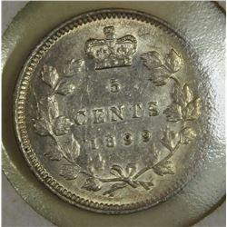 1899 CANADA NICKEL