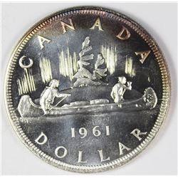 1961 CANADA PL DOLLAR