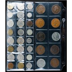 Lot (34) Collector World Coins.