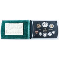 2002 Golden Jubilee Proof Coin Set with .925 Silver.