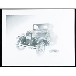 """""""Ford"""" Litho c. 1986. 11x14""""."""