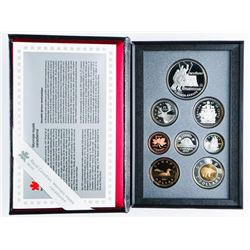 1997 Canada Double Dollar Proof Coin Set with Silver.