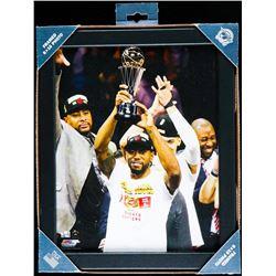 "Toronto Raptors NBA Champions Collector Frame - Leonard. 8x10""."