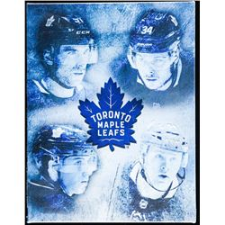 """Toronto Maple Leafs Collector Canvas. 10x13""""."""