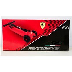 Ferrari Mesuca Twist Scooter.