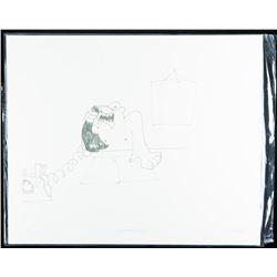 "John Lennon Litho ""Screaming Down a Telephone"" Litho. Bio au Vero. Low Edition /12 Worldwide. 11x14"""