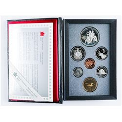 1990 Canada Double Dollar Proof Coin Set with Silver.