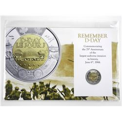 Remembering D-Day Collector Toonie on Storyboard.