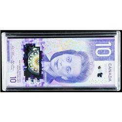 "GEM UNC Bank of Canada ""150th Anniversary"" 10.00. FTY Prefix."