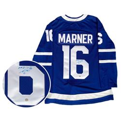 Mitch Marner - Toronto Maple Leafs - Jersey Signed with COA + SOLD OUT Toronto Maple Leaf .9999 Fine
