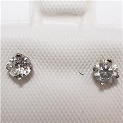 14K White Gold Diamond(0.3ct) Earrings, Suggested Retail Value $1000 (Estimated Selling Price from $