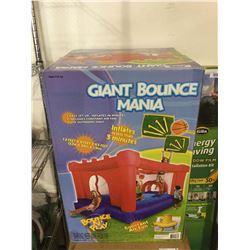 Giant Bounce Mania Bounce N' Play Inflatable Bounce House (12' x 8' x 6.5')